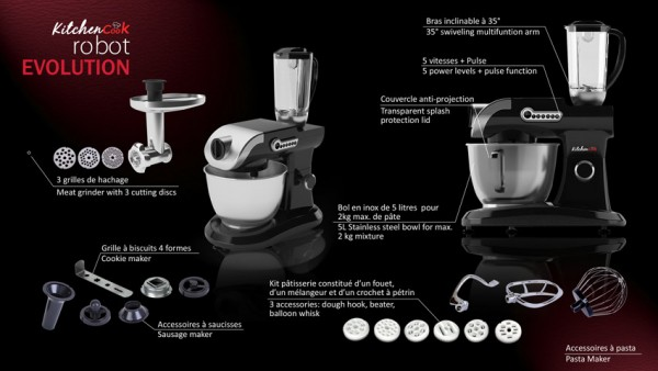 Robot KitchenCook Evolution V2