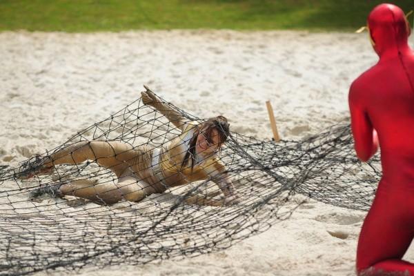 traversée des sables mouvants